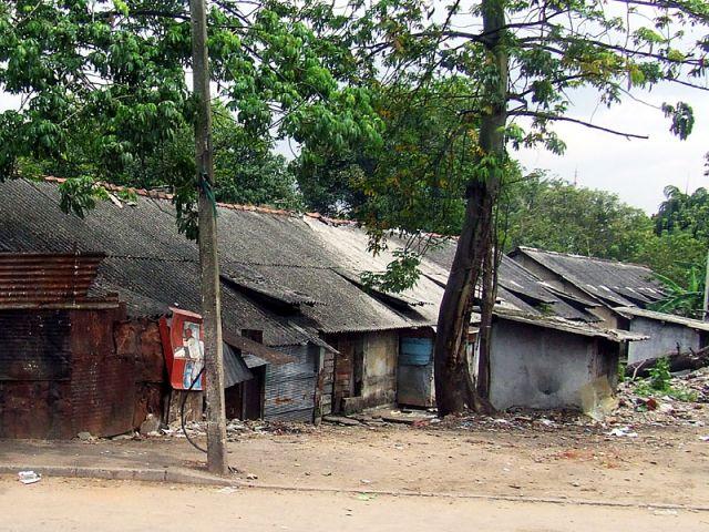 Zdjęcia: Colombo, slamsy, SRI LANKA