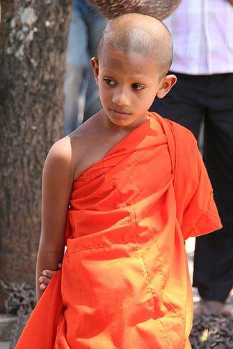 Zdjęcia: Południe Wyspy, Młody Mnich, SRI LANKA