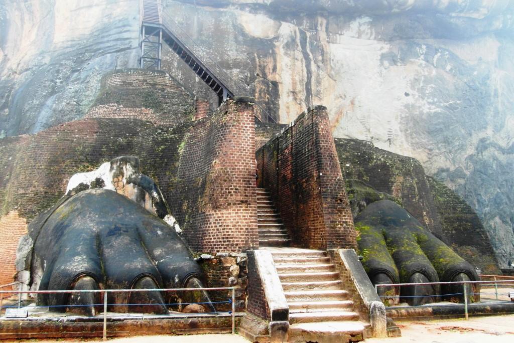 Zdjęcia: Sigiriya, Wejście na Sigiriya, SRI LANKA