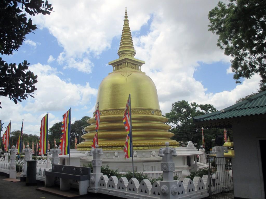 Zdjęcia: Rangiri, Dambula, Złota dagoba, SRI LANKA