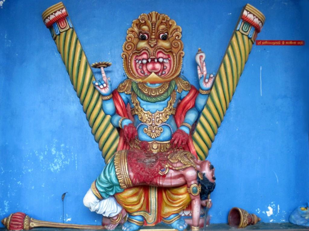 Zdjęcia: Munnemsveram Kovil, Chilaw, Krwawe bóstwo, SRI LANKA