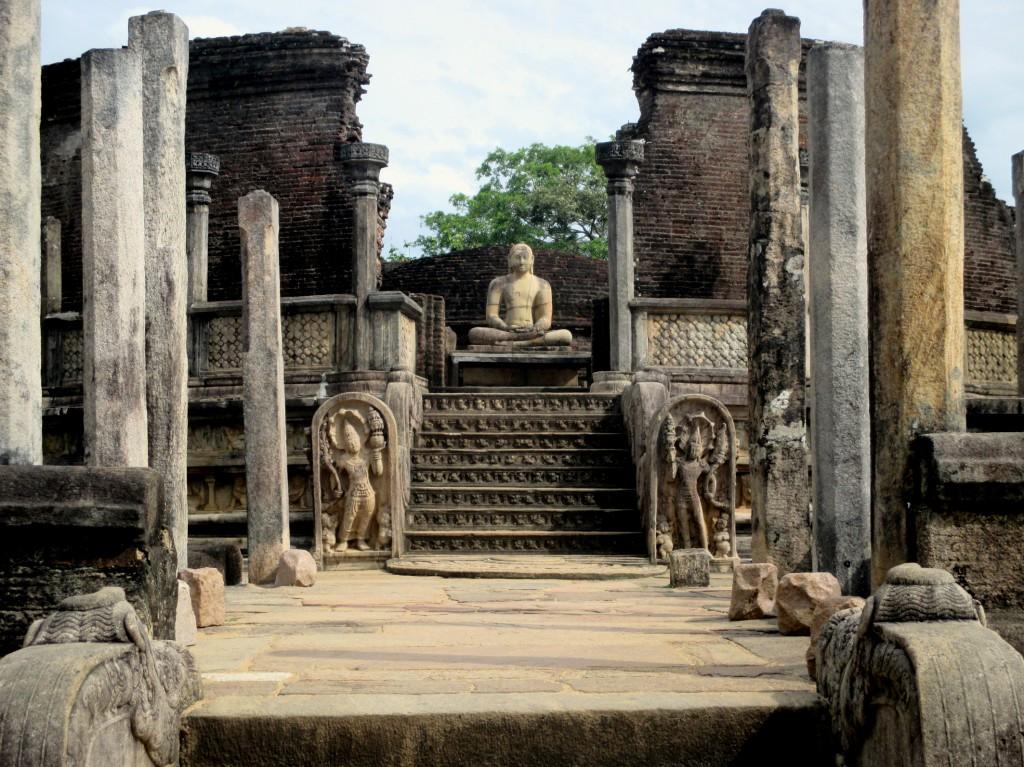 Zdjęcia: Vatagadae, Polonnaruwa, Święty krąg, SRI LANKA