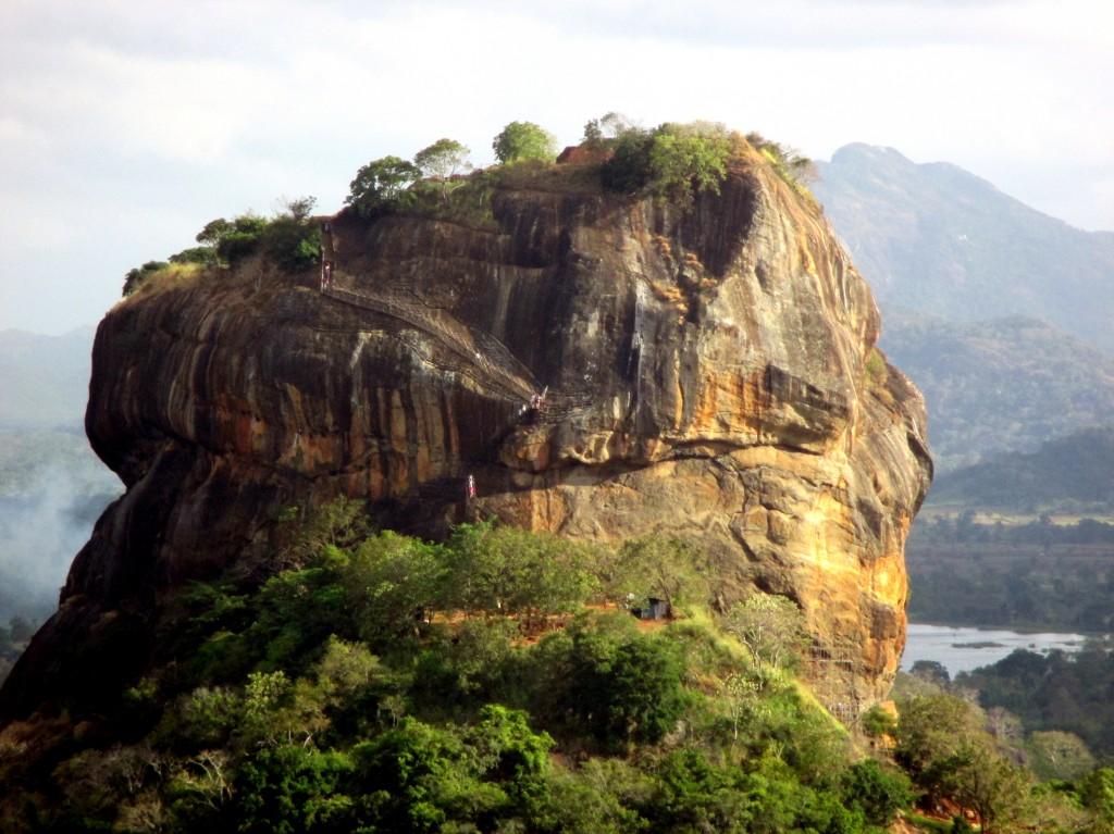Zdjęcia: Lwia Skała, Sigirija, Ponad dżunglą, SRI LANKA