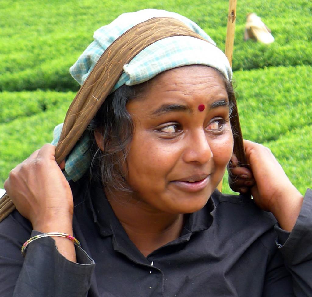 Zdjęcia: Na plantacji herbaty,  Prowincja Centralna, Po pracy, SRI LANKA