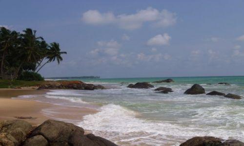 Zdjecie SRI LANKA / Galle / Ambalangoda / dzika plaża kolo Galle
