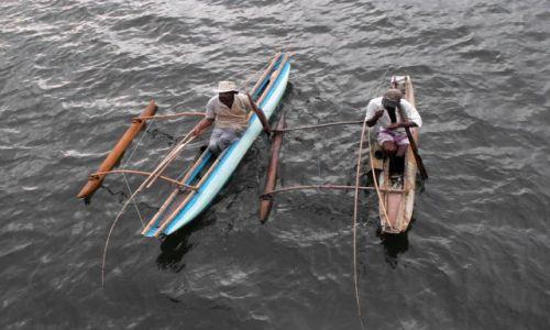 Zdjęcie SRI LANKA / Alutgama / rzeka Bentota / rybacy z rzeki Bentota
