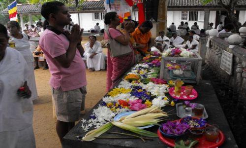 Zdjęcie SRI LANKA / Kalutara / sanktuarium /Asokarama maha Viharaya  / w sanktuarium
