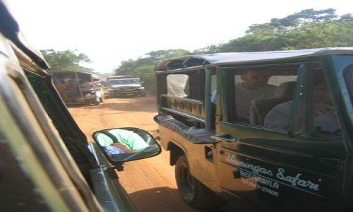 SRI LANKA / Yala / Park Narodowy Yala / Korek_podczas_safari_po_Yala