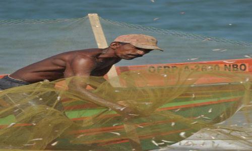 Zdjęcie SRI LANKA / Negombo / Port rybacki / Rybak z Negombo