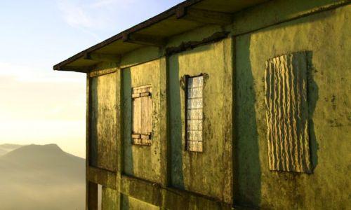 Zdjecie SRI LANKA / - / Wierzchołek Adam's Peak / Schronisko o świcie