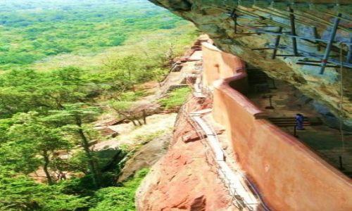 SRI LANKA / - / Sigirija / wejście na Sigiriję