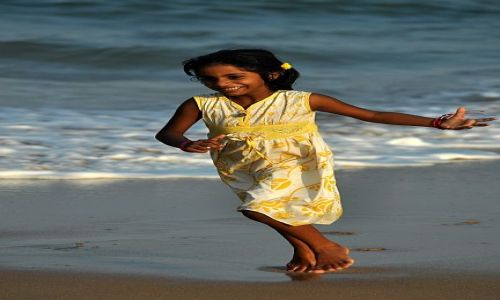 SRI LANKA / Yala National Park / Yala National Park / Radosc na plazy