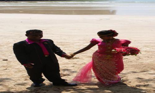 Zdjęcie SRI LANKA / Południe Wyspy / Gdzieś na plaży / Ślub