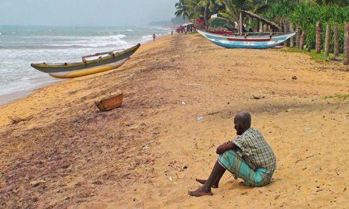 Zdjecie SRI LANKA / Zachodnie wybrzeże / Okolice Kalutary / W krainie ludzi morza, słoni i palm kokosowych (nareszcie finisz).