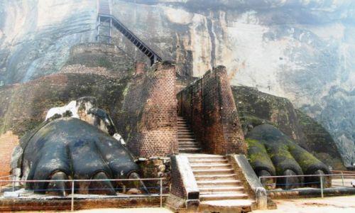 Zdjecie SRI LANKA / - / Sigiriya / Wejście na Sigiriya