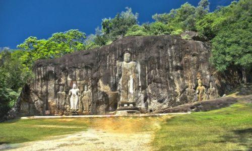 Zdjecie SRI LANKA / Sri Lanka / Sri Lanka / Stanowisko archeologiczne Buduruwagala