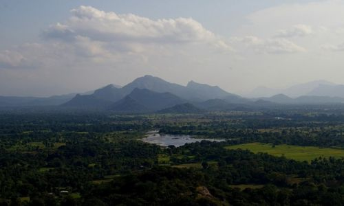 Zdjęcie SRI LANKA / central / sigiriya / view from sigiriya