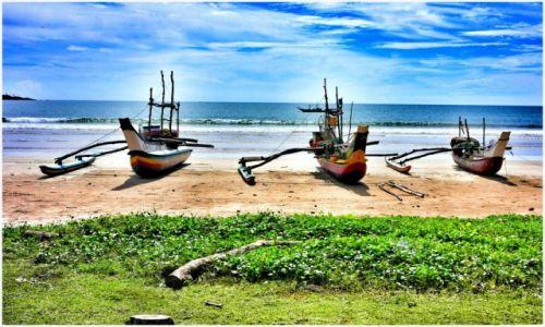Zdjecie SRI LANKA / Weligama / Weligama / Weligama beach