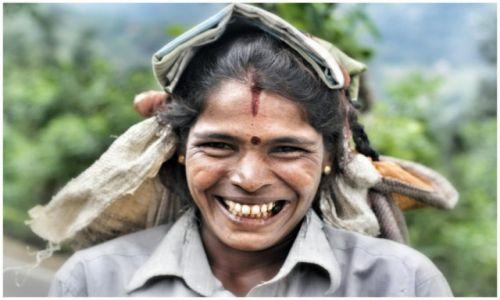 Zdjęcie SRI LANKA / haputale / haputale / Rakshmi. The tea picker