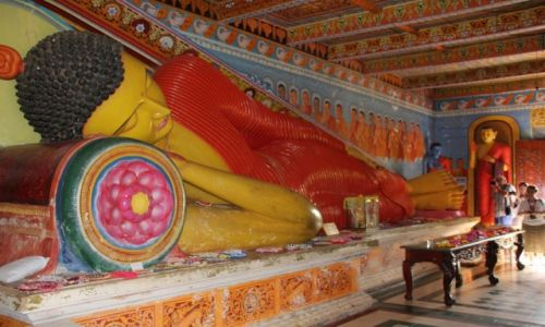 Zdjęcie SRI LANKA / Anuradhapura / Anuradhapura / Leżący Budda