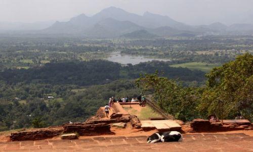 Zdjęcie SRI LANKA / Sigiriya / Sigiriya / Widok z Lwiej Skały