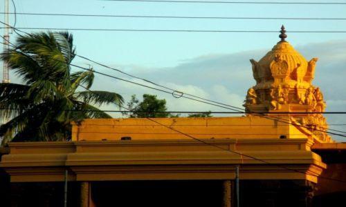 Zdjęcie SRI LANKA / Chilaw / Munnemsveram Kovil / Ozłocona słońcem