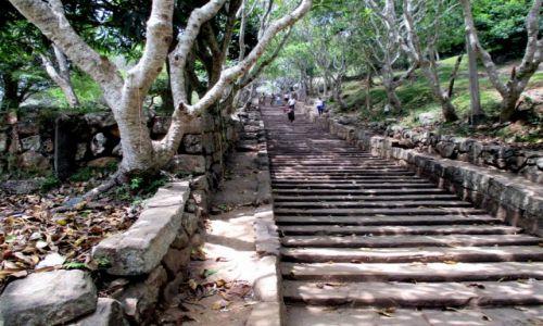 Zdjęcie SRI LANKA / Sri Lanka centralna / Mihintale / Jeszcze tylko 1799 stopni i już.