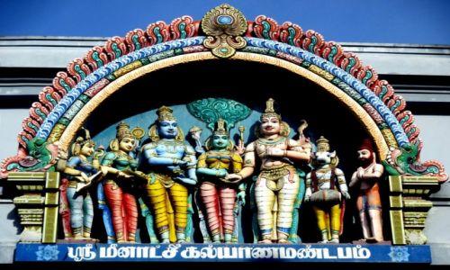 Zdjęcie SRI LANKA / Kandy / Hinduska świątynia w centrum miasta /