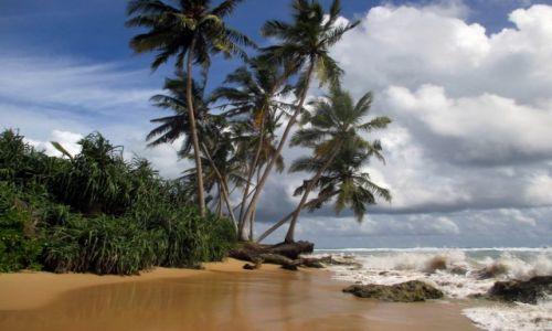 Zdjecie SRI LANKA / Hkkaduwa / Dzikie plaże / Banał? Oczywiście, ale piękny.