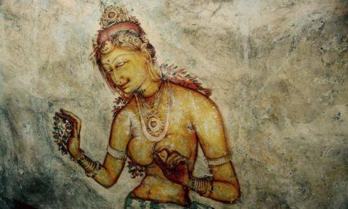 Zdjecie SRI LANKA / Sigirija  / Sigirija / Kobietą być