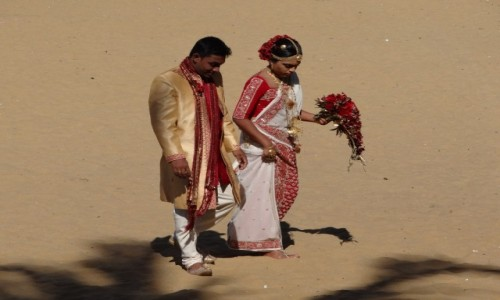 Zdjecie SRI LANKA / Sri Lanka / Negombo / Ślubna sesja w