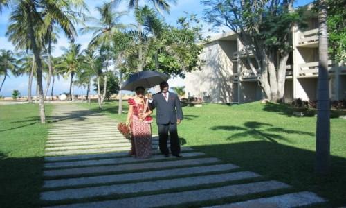 Zdjecie SRI LANKA / - / Pegasus Reef Hotel (Sri Lanka Wattala) / Nowożeńcy