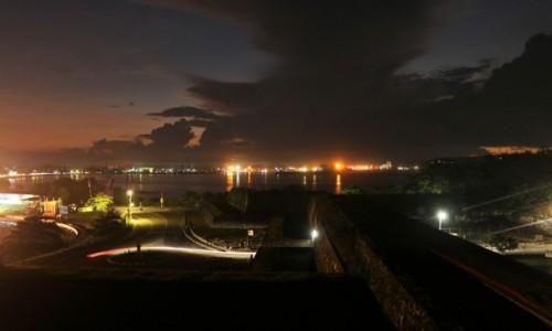 Zdjecie SRI LANKA / Galle / Fort / Fort Galle nocą