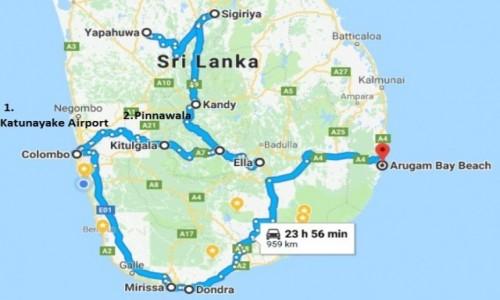 Zdjecie SRI LANKA / Sri Lanka / Cała wyspa / Ciekawa Trasa po Cejlonie