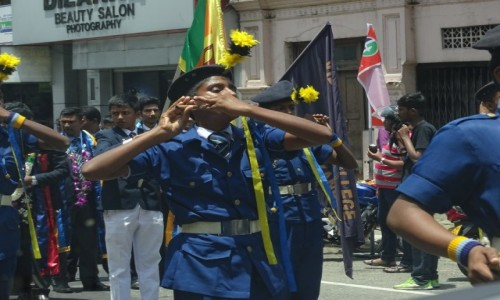 Zdjecie SRI LANKA / Central Province / Kandy / Parada