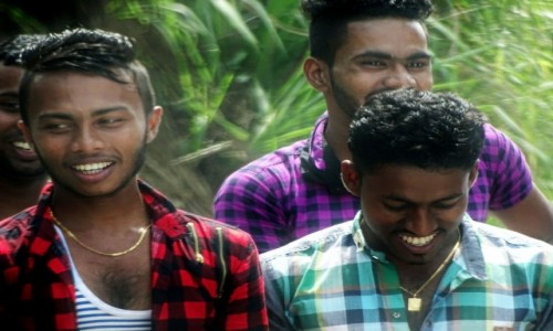 Zdjecie SRI LANKA / southern province / Yala / Ludzie