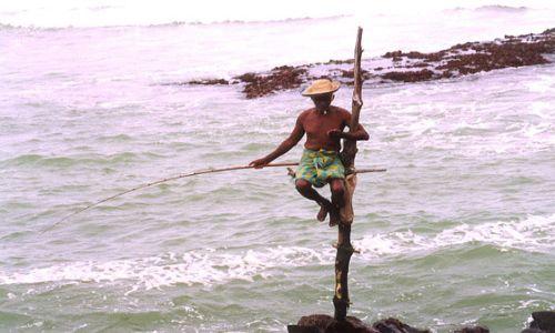 Zdjecie SRI LANKA / Południe / Ocean Indyjski / Wędkarze