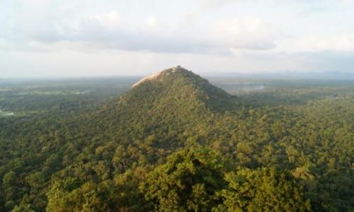 Zdjecie SRI LANKA / Sigiriya / Sigiriya / Widok z Sigiriyi