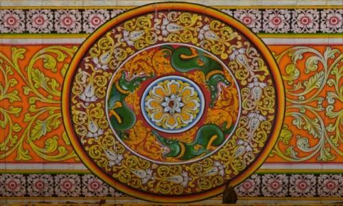 Zdjecie SRI LANKA / Centralny / Anuradhapura / Udręczenie glazurnika ;-)