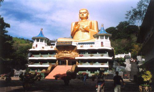 Zdjęcie SRI LANKA / brak / DAMBULLA / Golden Temple