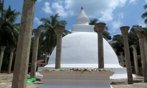SRI LANKA / Trójkat Kulturowy / Mihintale / Ambasthala – Dagoba Drzewa Mangowego