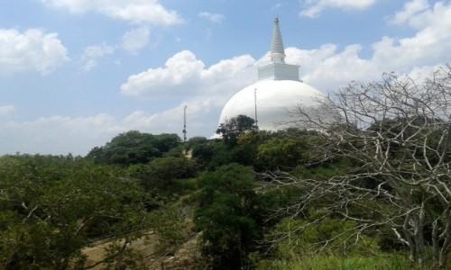 SRI LANKA / Trójkat Kulturowy / Mihintale / Mahaseya – dagoba Maha