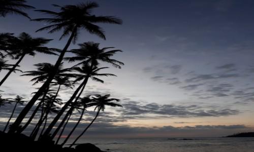 SRI LANKA / Mirissa / Coconaut Hill / Gdzie jest księżyc?