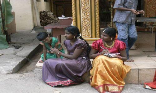 Zdjęcie SRI LANKA / Colombo / Dehiwalla Tempel / Wesele hinduskie