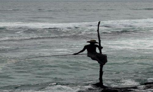 Zdjęcie SRI LANKA / Southern / Galle / rybak