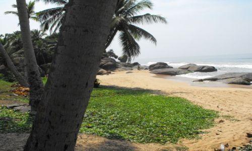 Zdjęcie SRI LANKA / Beruwela  / plaża / cichy szum morza ,śłońce ,palmy