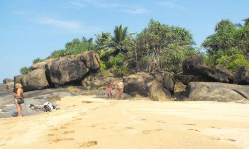 Zdjecie SRI LANKA / Bentota / malownicze plaże w okolicy Bentoty / ciągle jacyś dziwni nowi znajomi...