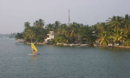 Zdjęcie SRI LANKA / rzeka Bentota / Bentota / bardzo zielony kraj