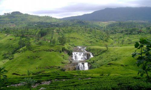 Zdjęcie SRI LANKA / Nuwara Eliya  / wodospad Nuwara Eliya  / listopad na Sri Lance
