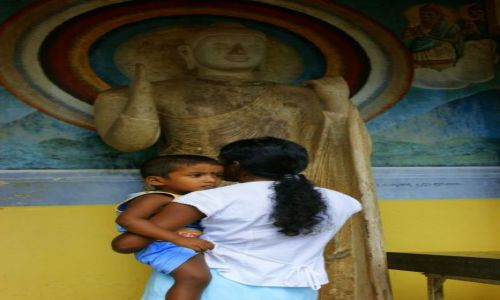 Zdjęcie SRI LANKA / Anuradapura / Anuradapura / Błogosławieństwo